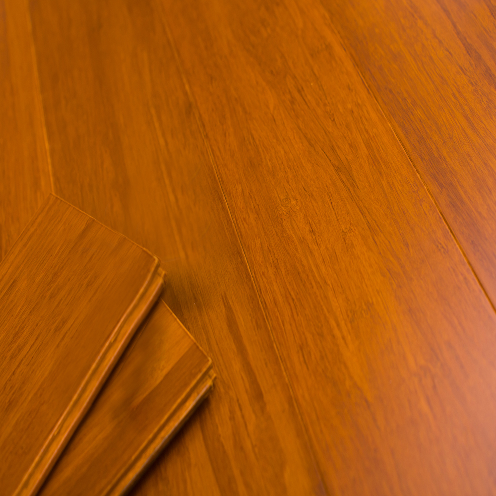 8009: Strand Woven Bamboo Flooring, Carbonized Oak (Okan): 1530x132x12mm  1