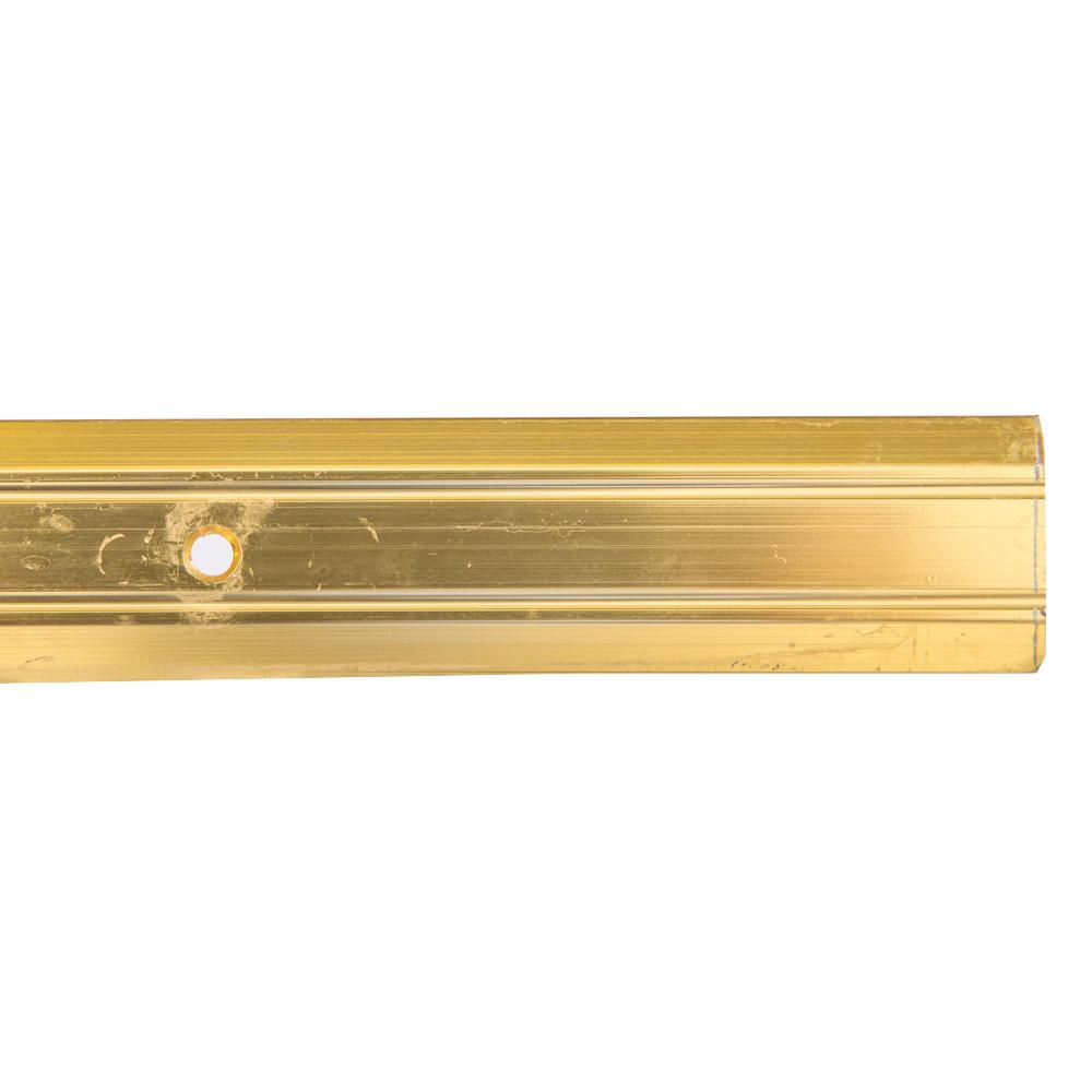 Gold 8ft : LinoEdge Carpet Flat-Bar #8448