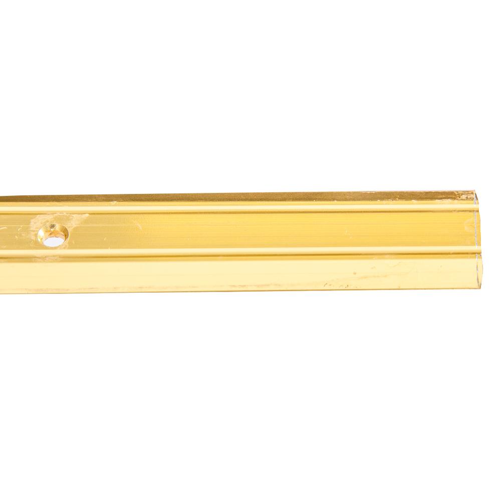 Gold 8ft : LinoEdge Carpet Flat-Bar #8448.120