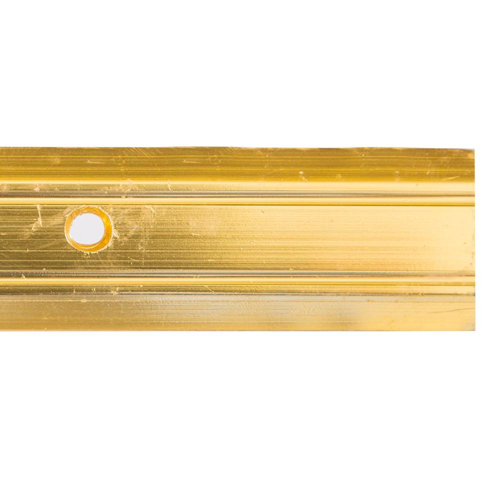 Gold 9ft : LinoEdge Carpet Flat-Bar #TX8449 1