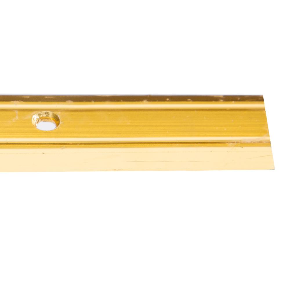 Gold 9ft : LinoEdge Carpet Flat-Bar #TX8449