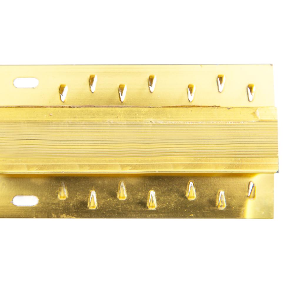 Gold, 8ft, Double-Sided:Carpet Naplock #B 1