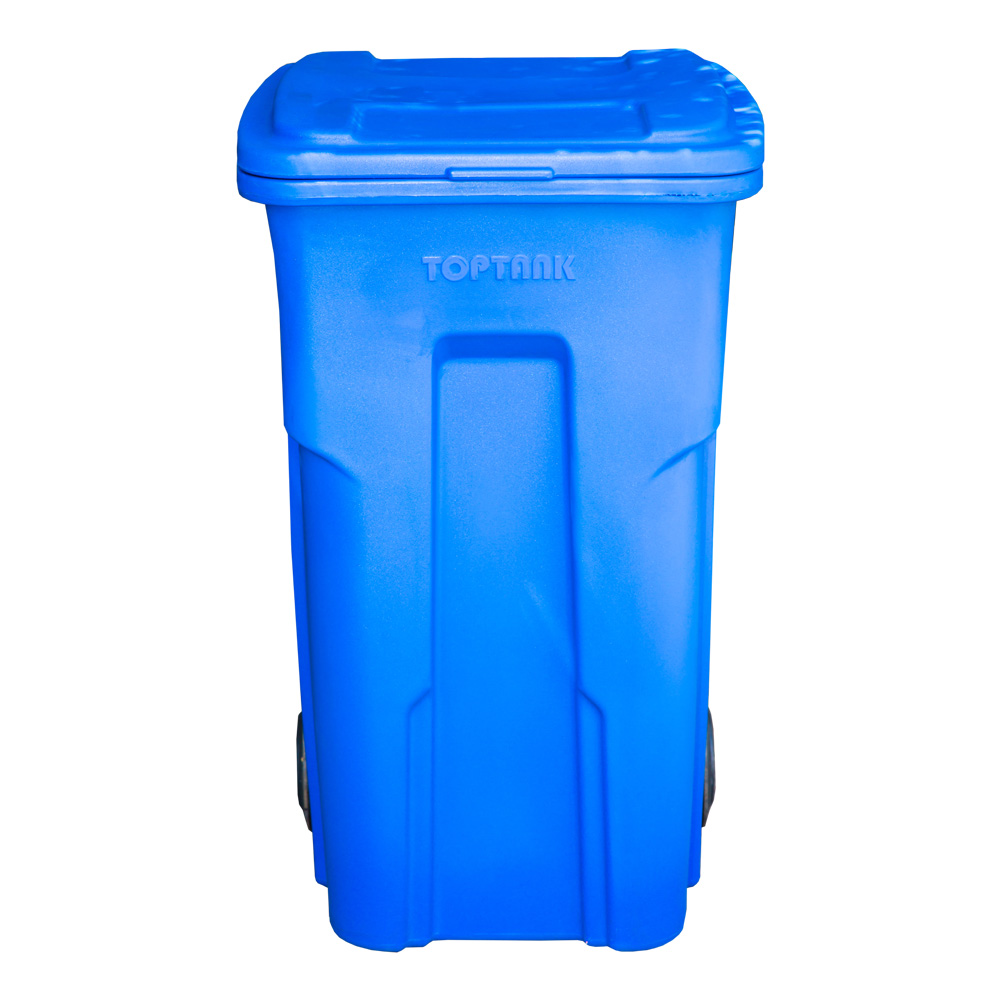 TopTank : Garbage Bin With Wheels, 240 Litres With Handle 1
