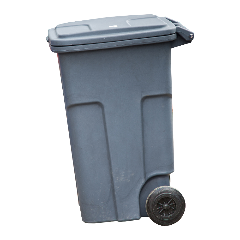 TopTank : Garbage Bin With Wheels, 240 Litres With Handle