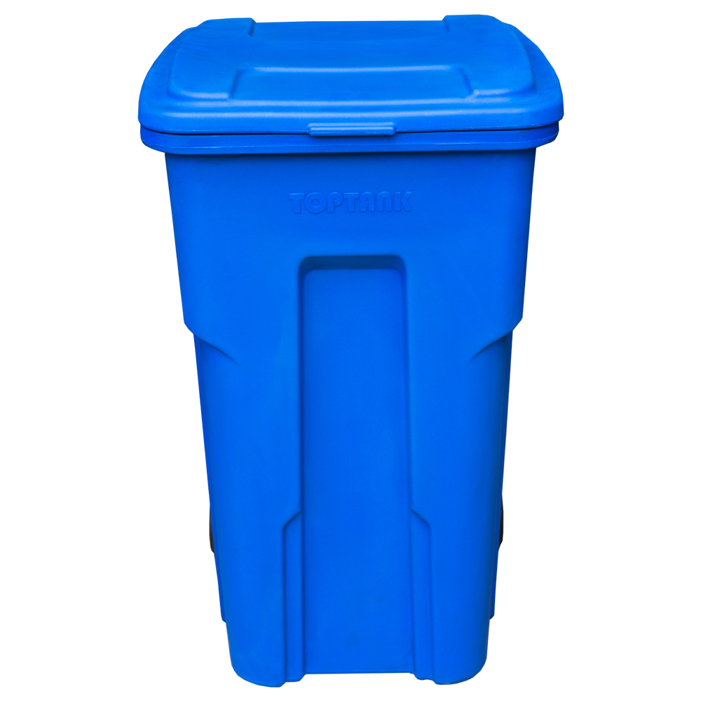 TopTank : Garbage Bin With Wheels, 360 Litres With Handle 1