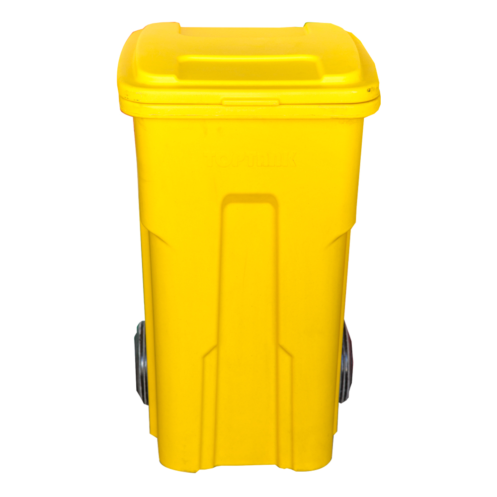TopTank : Garbage Bin With Wheels, 120 Litres With Handle