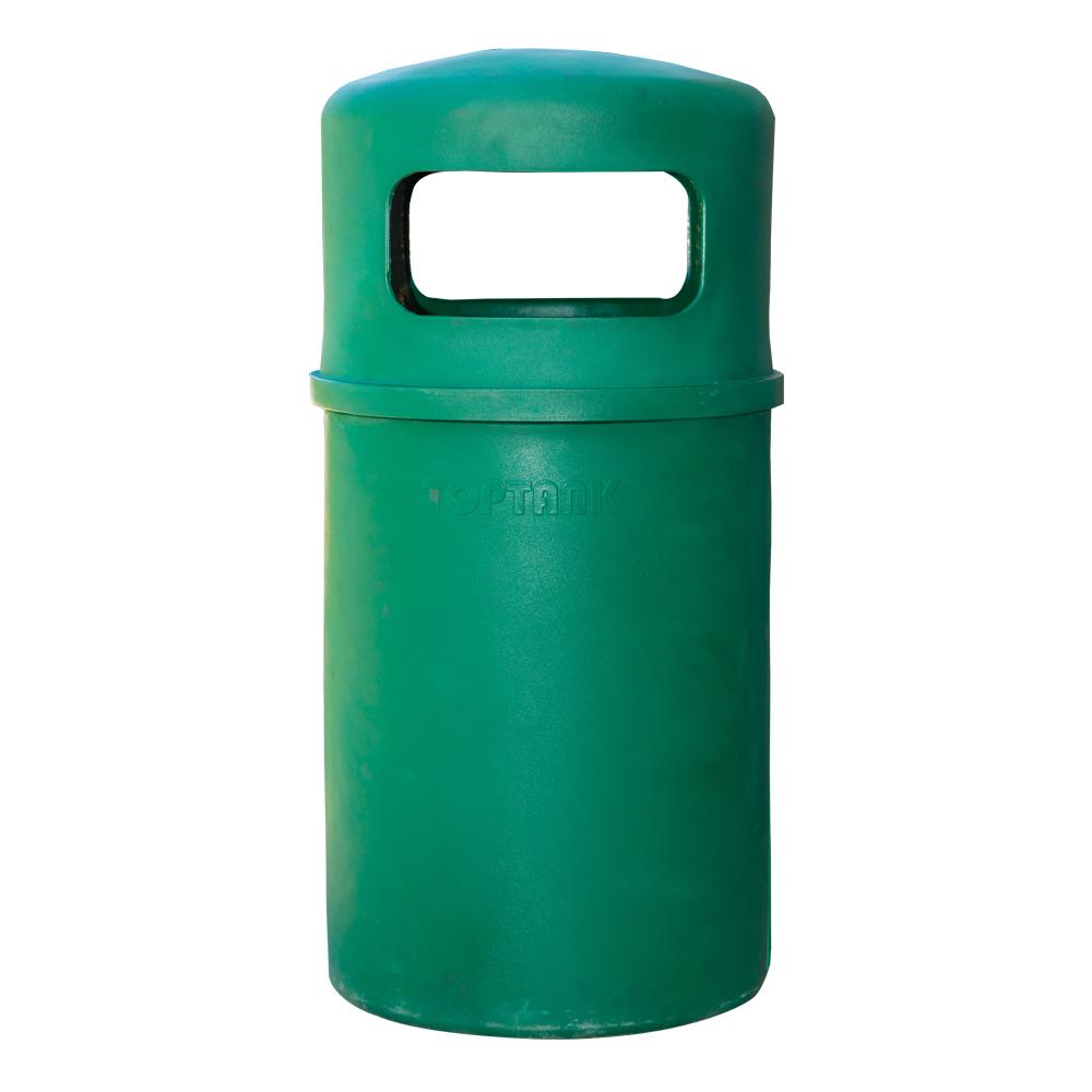 TopBin: Round Trash Bin, 90 Litres 1