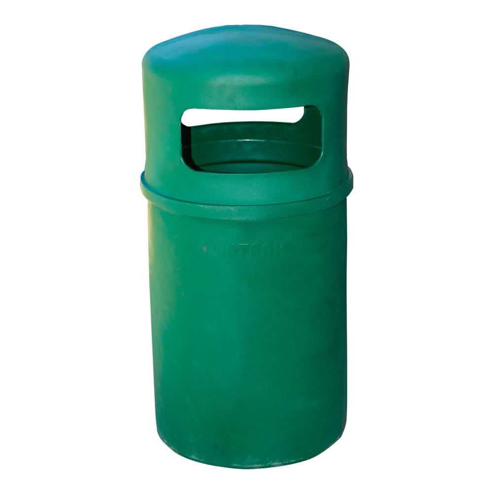 TopBin: Round Trash Bin, 90 Litres