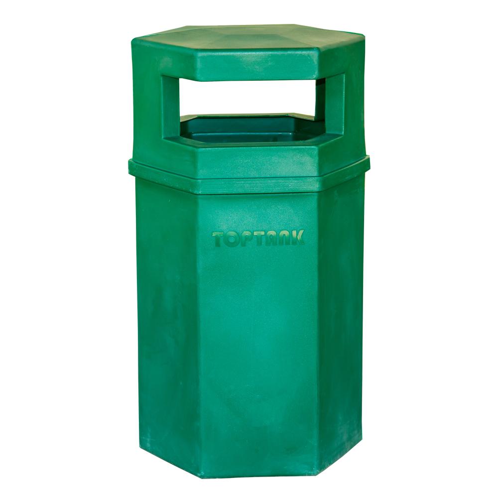 TopBin: Hexagonal Trash Bin, 90 Litres 1