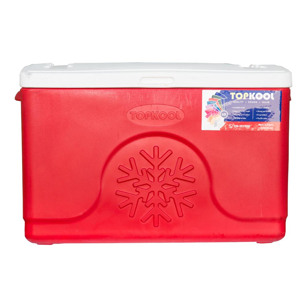 TopKool : Ice Cooler Box, Rectangular : 60 Litres 1