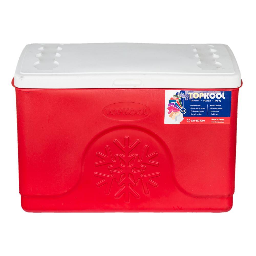 TopKool : Ice Cooler Box, Rectangular : 60 Litres