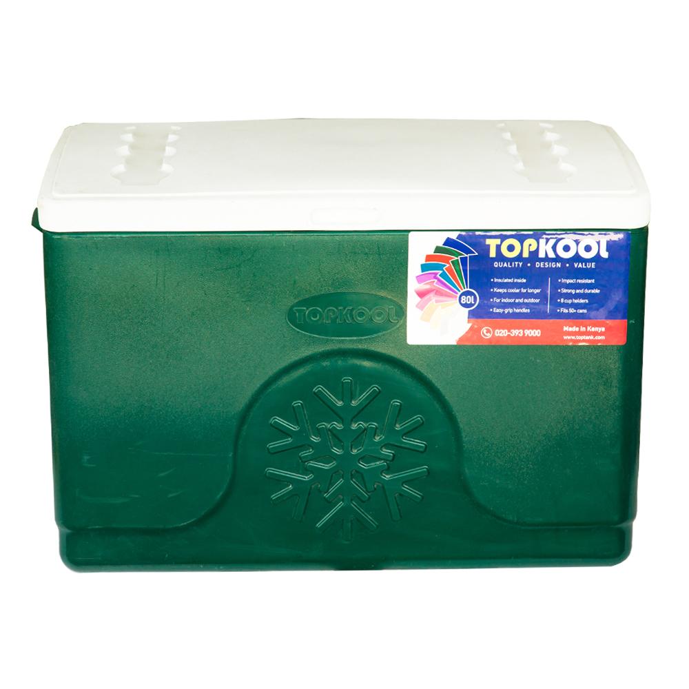 TopKool : Ice Cooler Box, Rectangular : 80 Litres