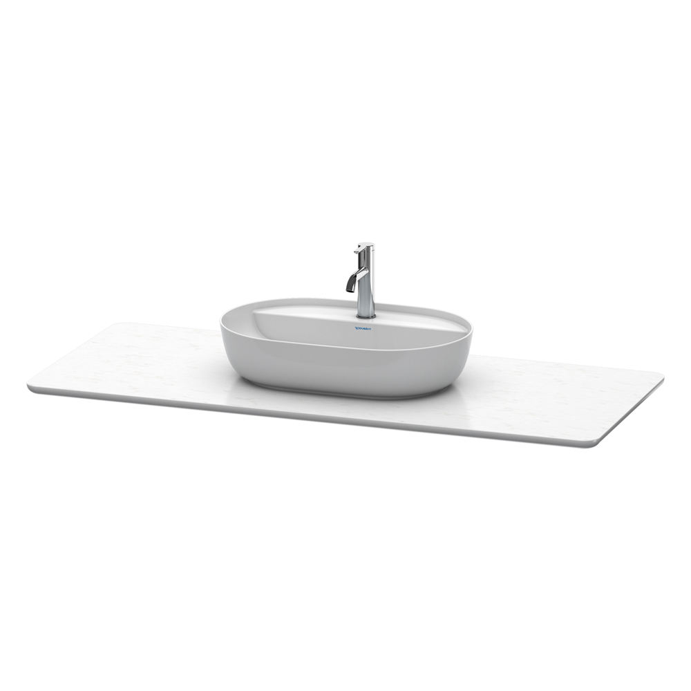 Duravit: Luv: Console For #38080 With Cut -Out; 138