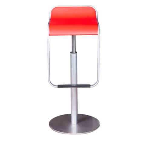 Bar Stool, Red 1
