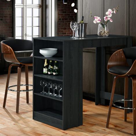 Bar Table; (80.5x143x198)cm, Silver Ash