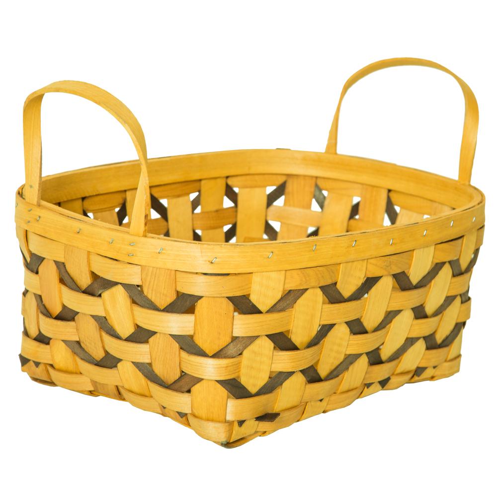 DOMUS:Oval Willow Basket: 30x23x12cm: Medium #CB160073 1