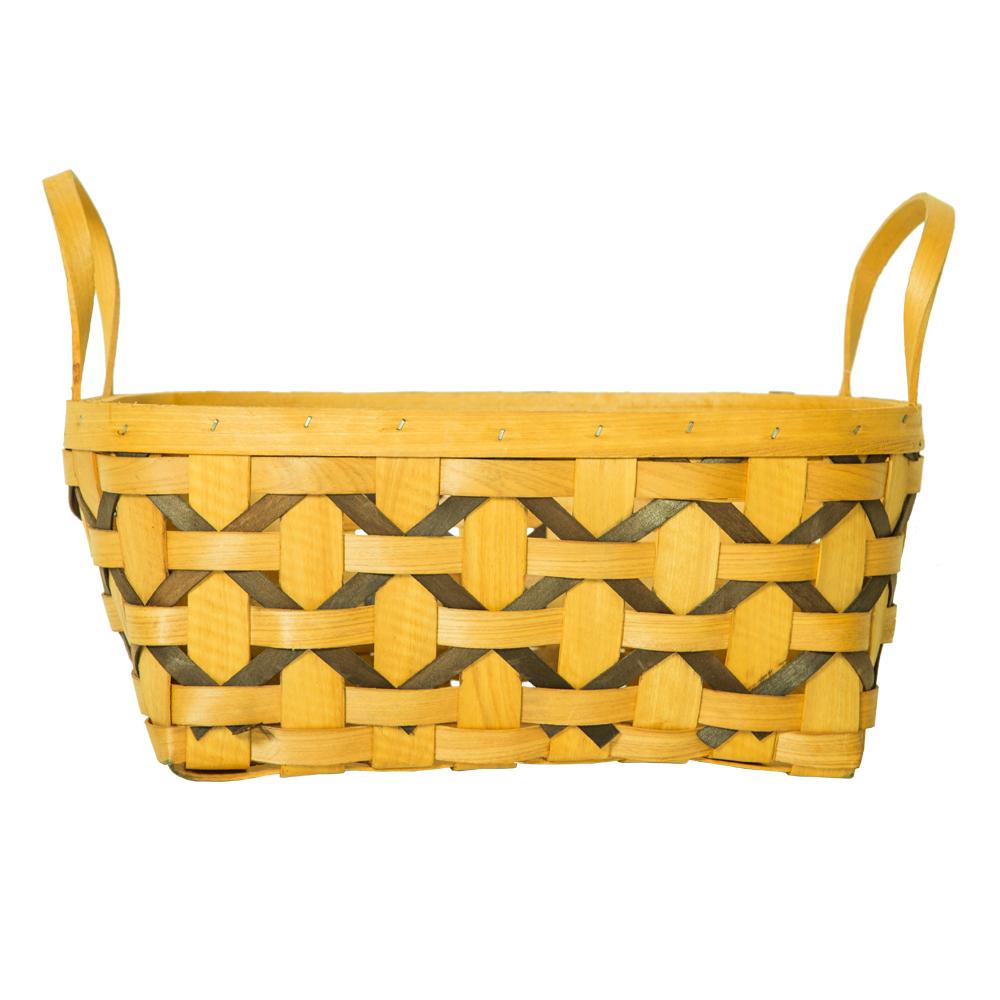 DOMUS:Oval Willow Basket: 30x23x12cm: Medium #CB160073