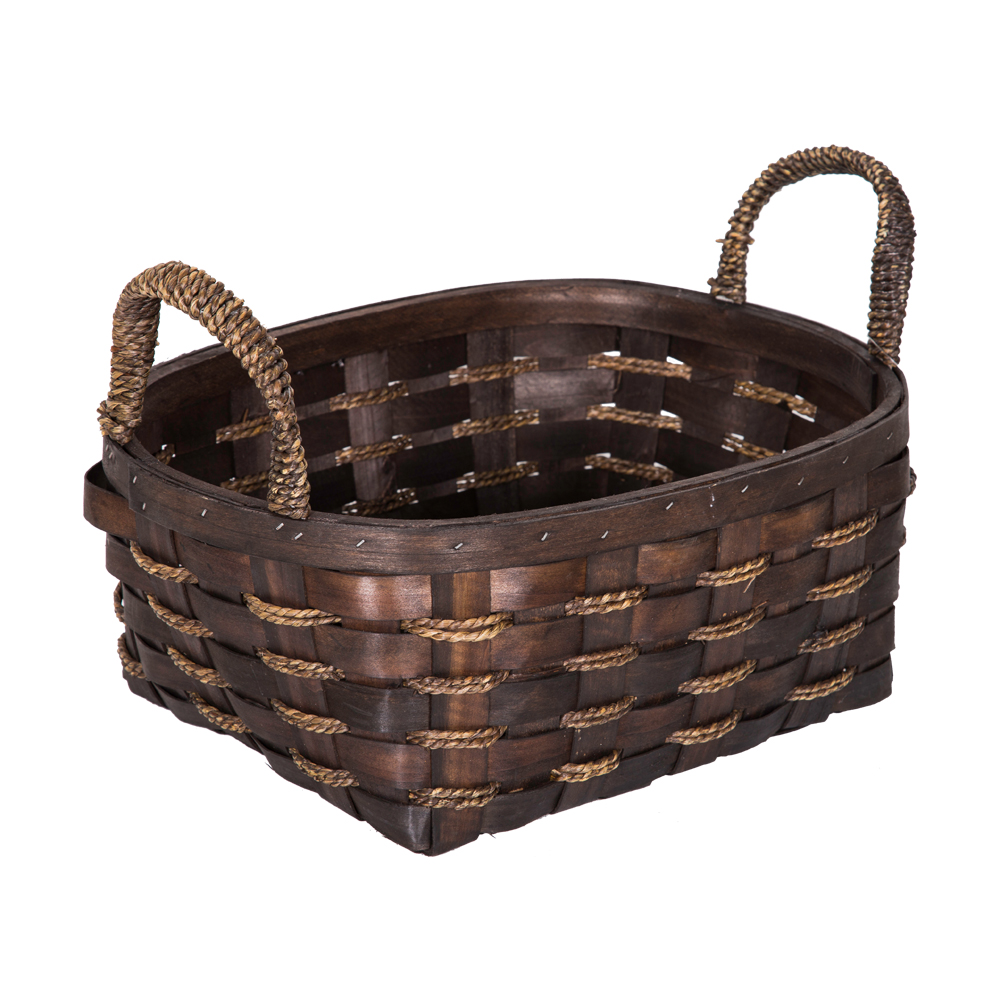 DOMUS:Oval Willow Basket: 36x30x15cm: Large #CB160097 1