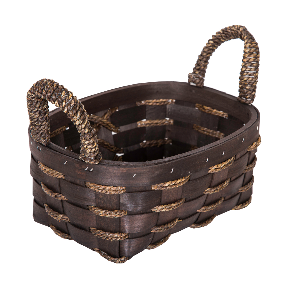 DOMUS:Oval Willow Basket: 25x19x11cm: Small #CB160097 1