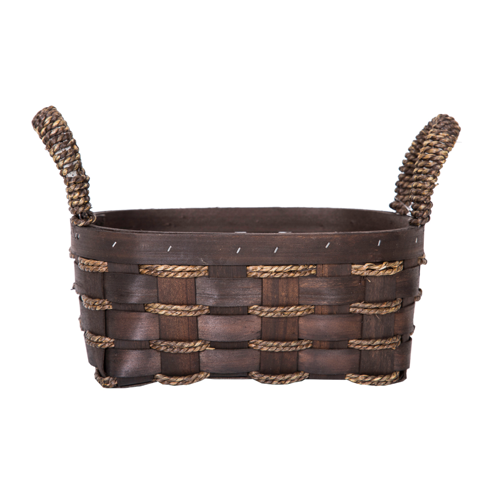 DOMUS:Oval Willow Basket: 25x19x11cm: Small #CB160097