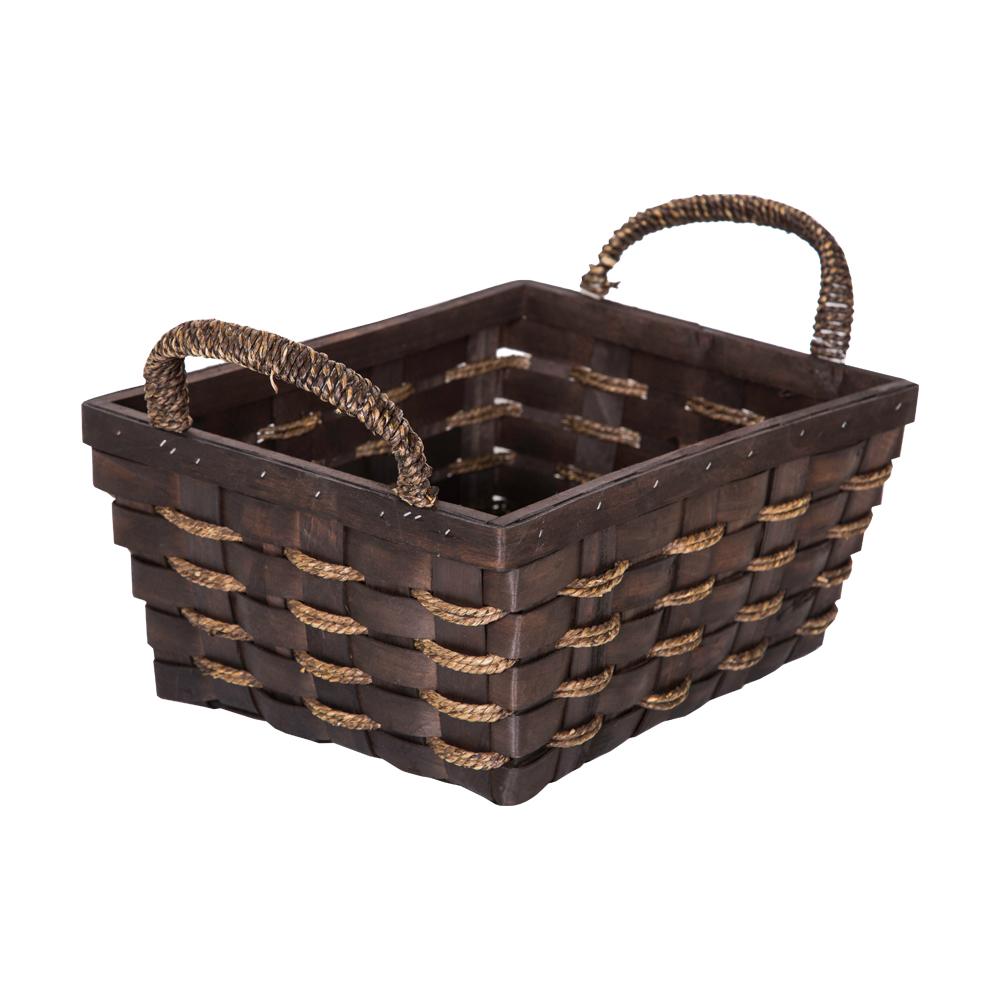 DOMUS:Rectangle Willow Basket: 33x26x15cm: Large #CB160098 1