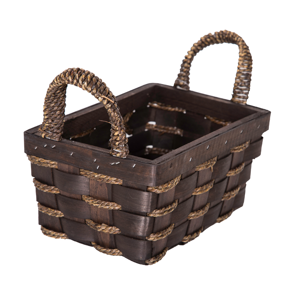 DOMUS:Rectangle Willow Basket: 24x16x11cm: Small #CB160098 1
