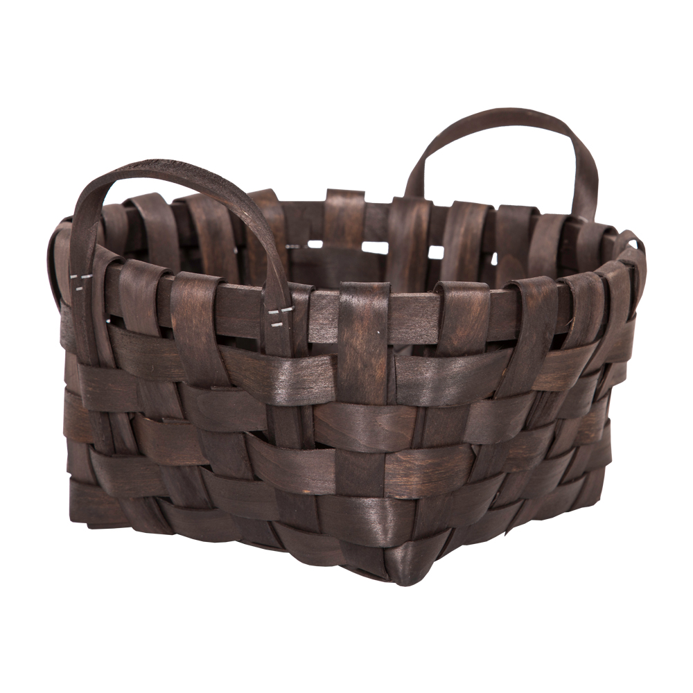 DOMUS:Oval Willow Basket: 25x12cm: Small #CB160099