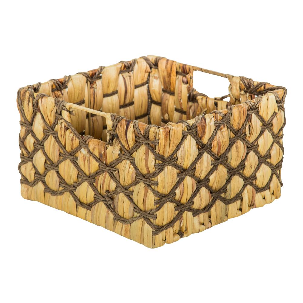 DOMUS: Square Willow Basket: 30x30x18cm: Medium #CB160678 1