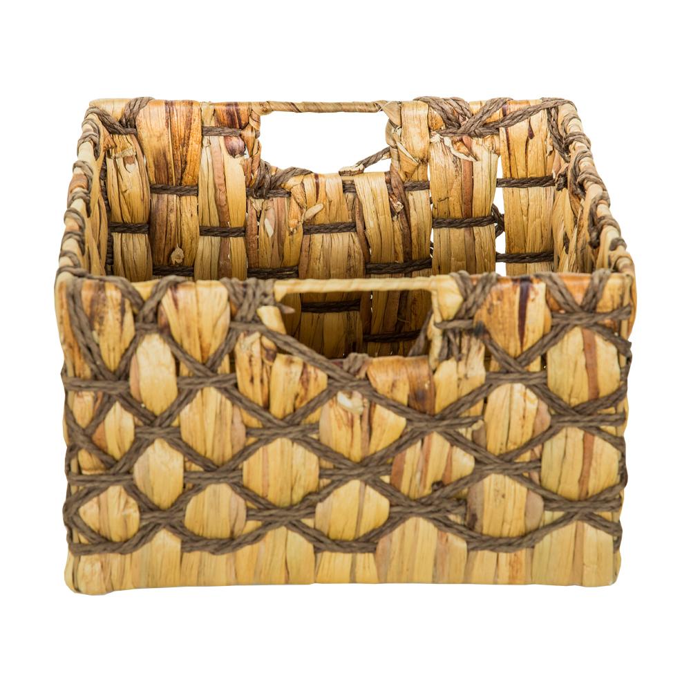 DOMUS: Square Willow Basket: 30x30x18cm: Medium #CB160678