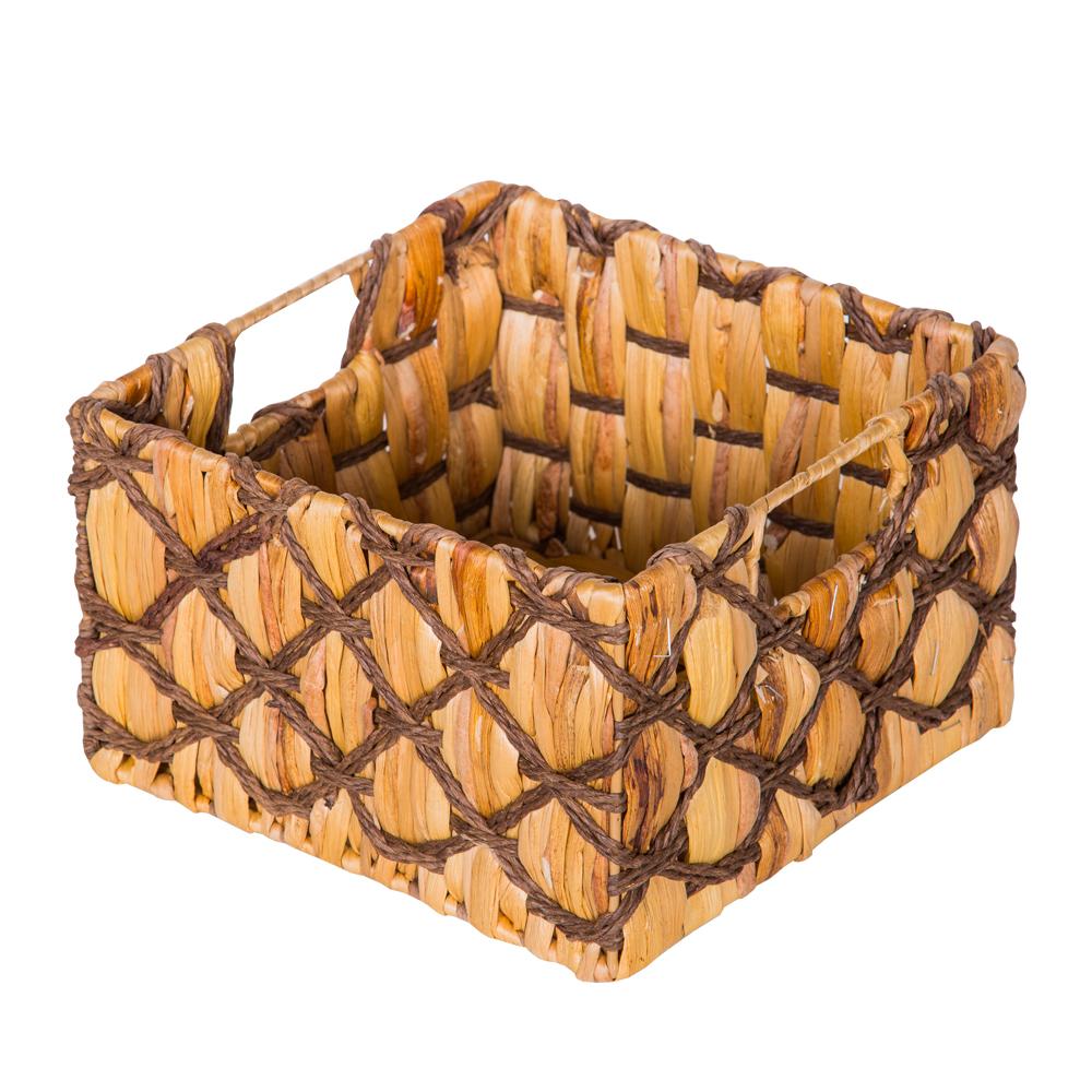 DOMUS: Square Willow Basket: 24x24x15cm: Small #CB160678 1