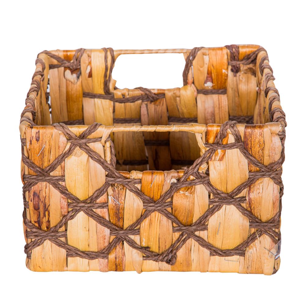 DOMUS: Square Willow Basket: 24x24x15cm: Small #CB160678