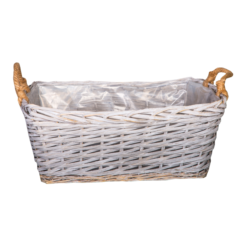 DOMUS: Rectangle Willow Basket :60x49x24cm: Large #CB170034 1