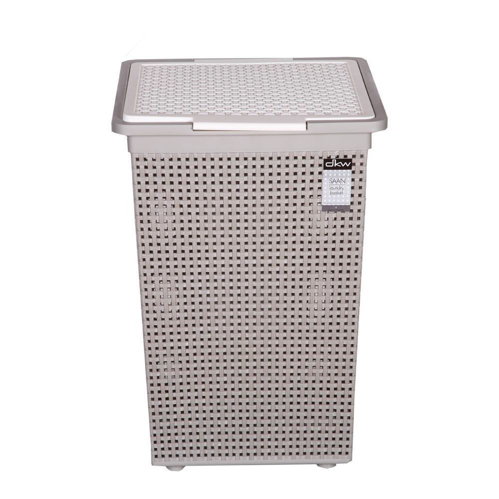 DKW: Sann Square Laundry Basket With Lid: Ref