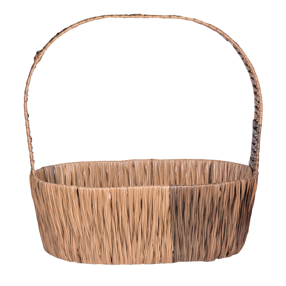 DOMUS:Oval Willow Basket: 46x34cm: Large #CB180312 1