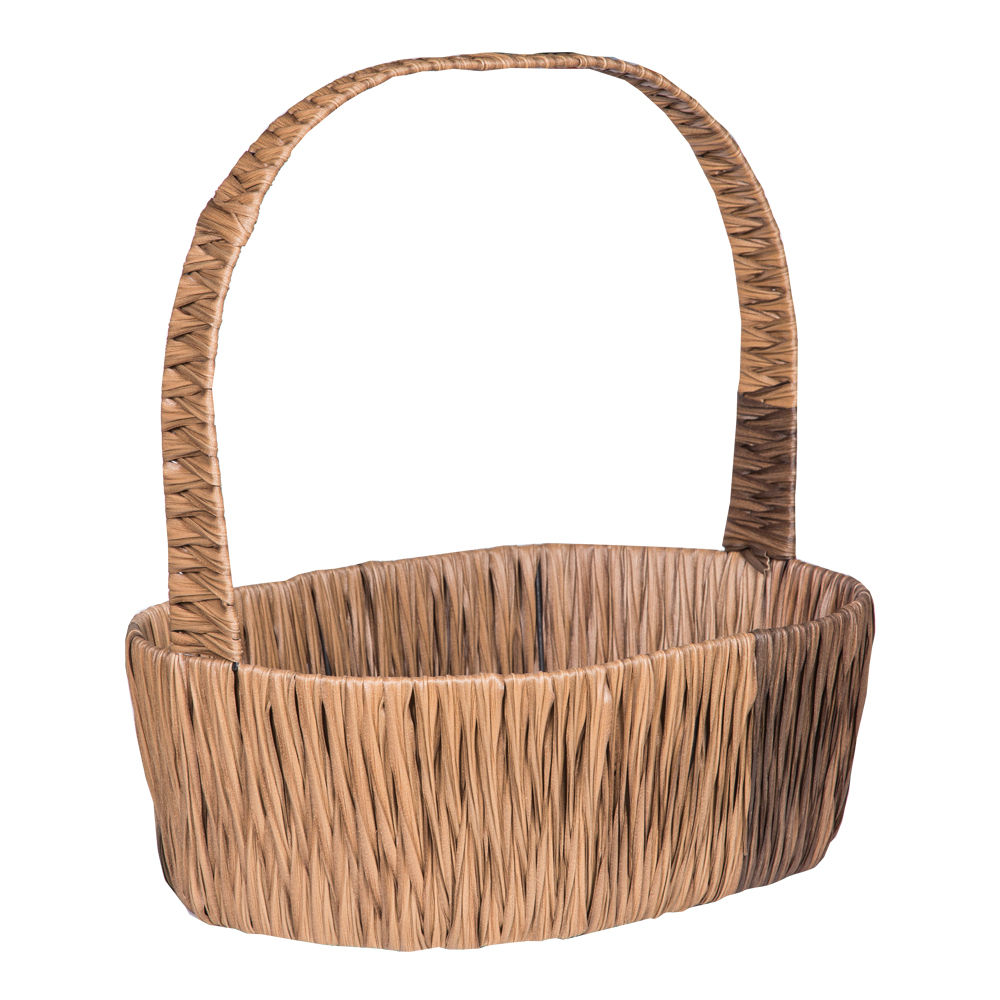 DOMUS:Oval Willow Basket: 46x34cm: Large #CB180312