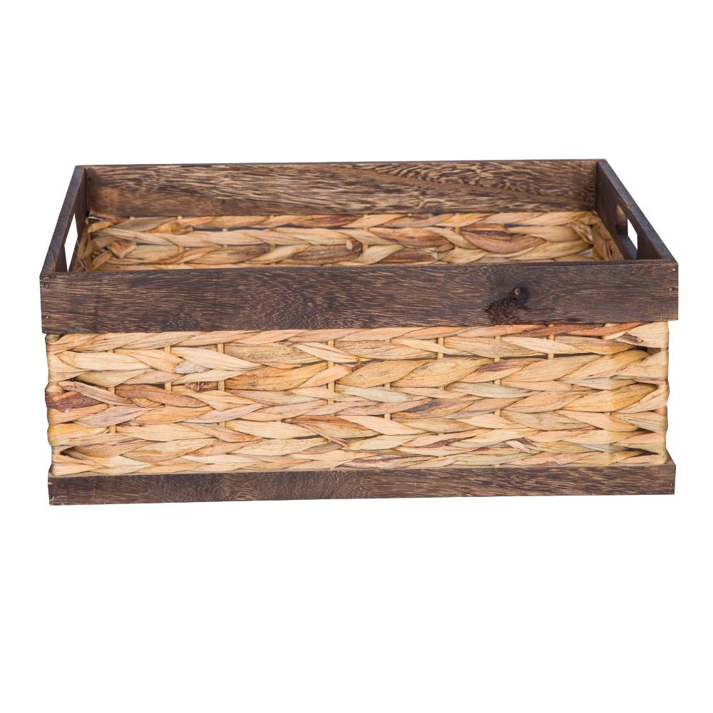 DOMUS:Rectangle Willow Basket: 44×33