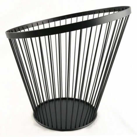 Iron Fruit Basket; (28x28x26)cm, Black 1