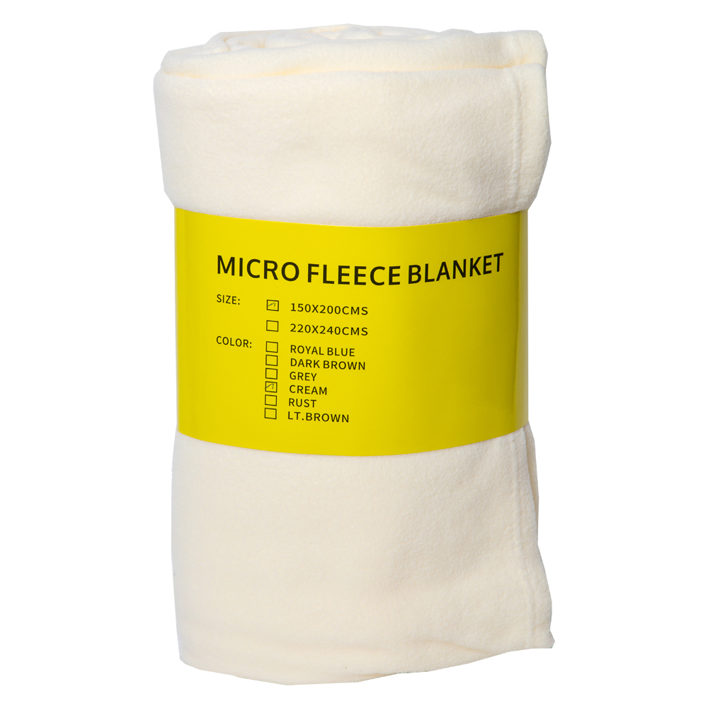 MITSUI: Micro Fleece Blanket; 150x200cm 1