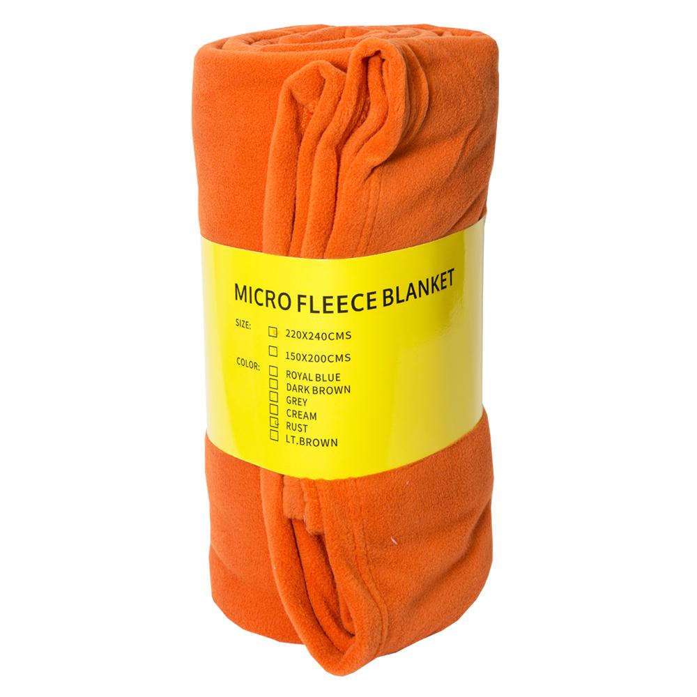 MITSUI: Micro Fleece Blanket; 220x240cm 1
