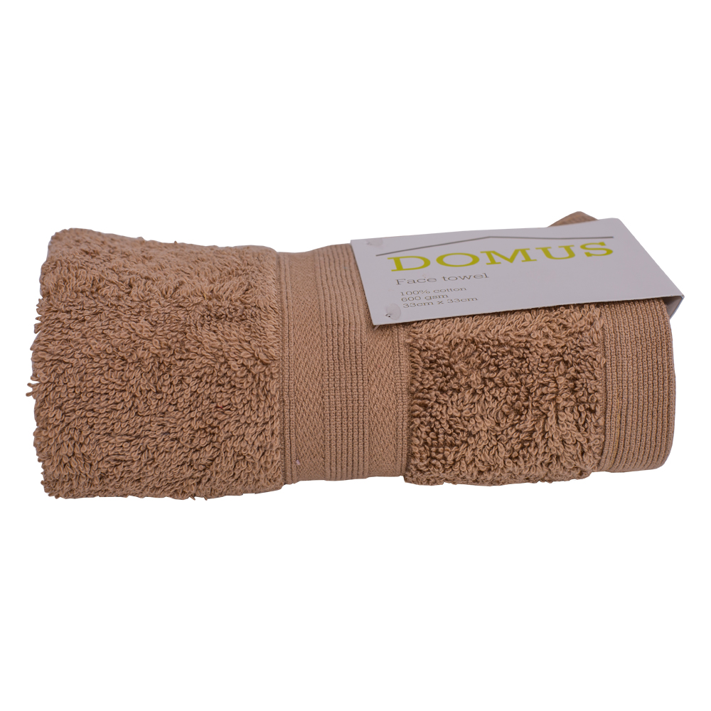 DOMUS: Face Towel: 600 GSM, 33x33