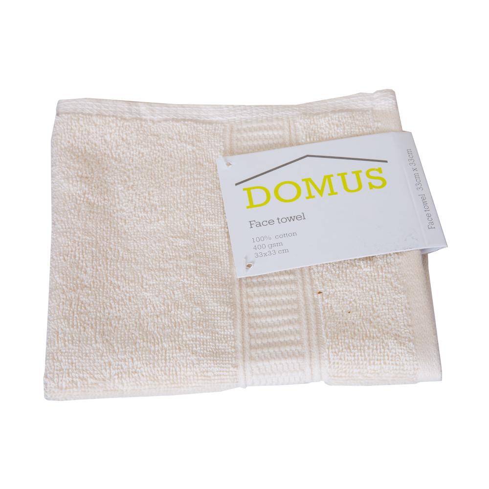 DOMUS 2: Face Towel: 400 GSM, 33x33cm 1