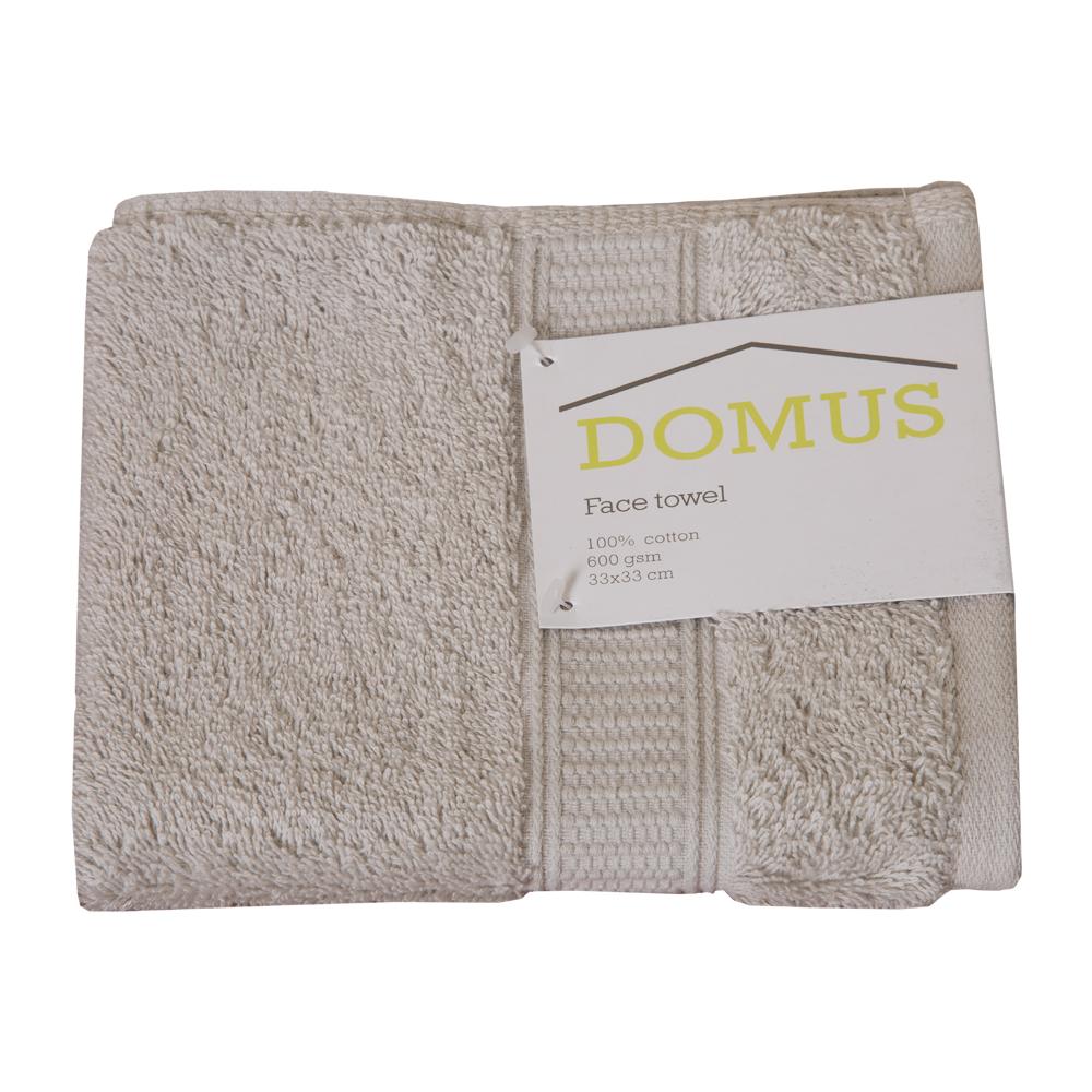 DOMUS 2: Face Towel: 600 GSM, 33x33cm 1