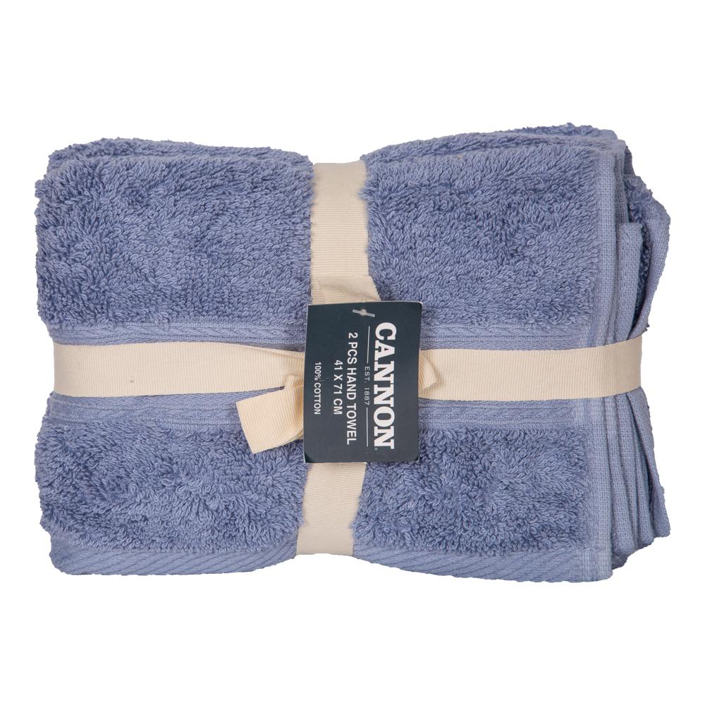 Cannon: Hand Towels, Plain 2pc : 41x71cm 1