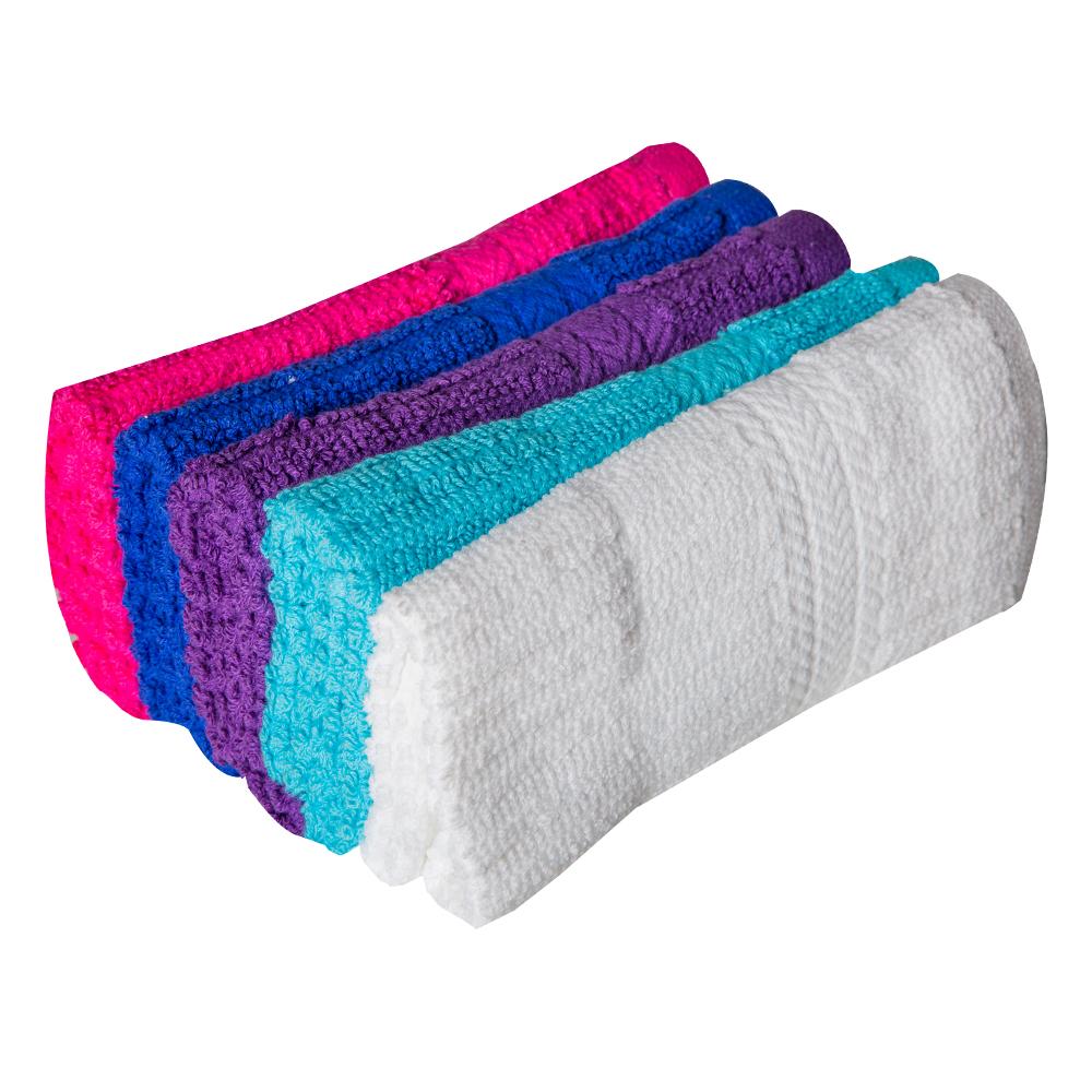 REST : Face Towel- 30x30cm: 5pc Set