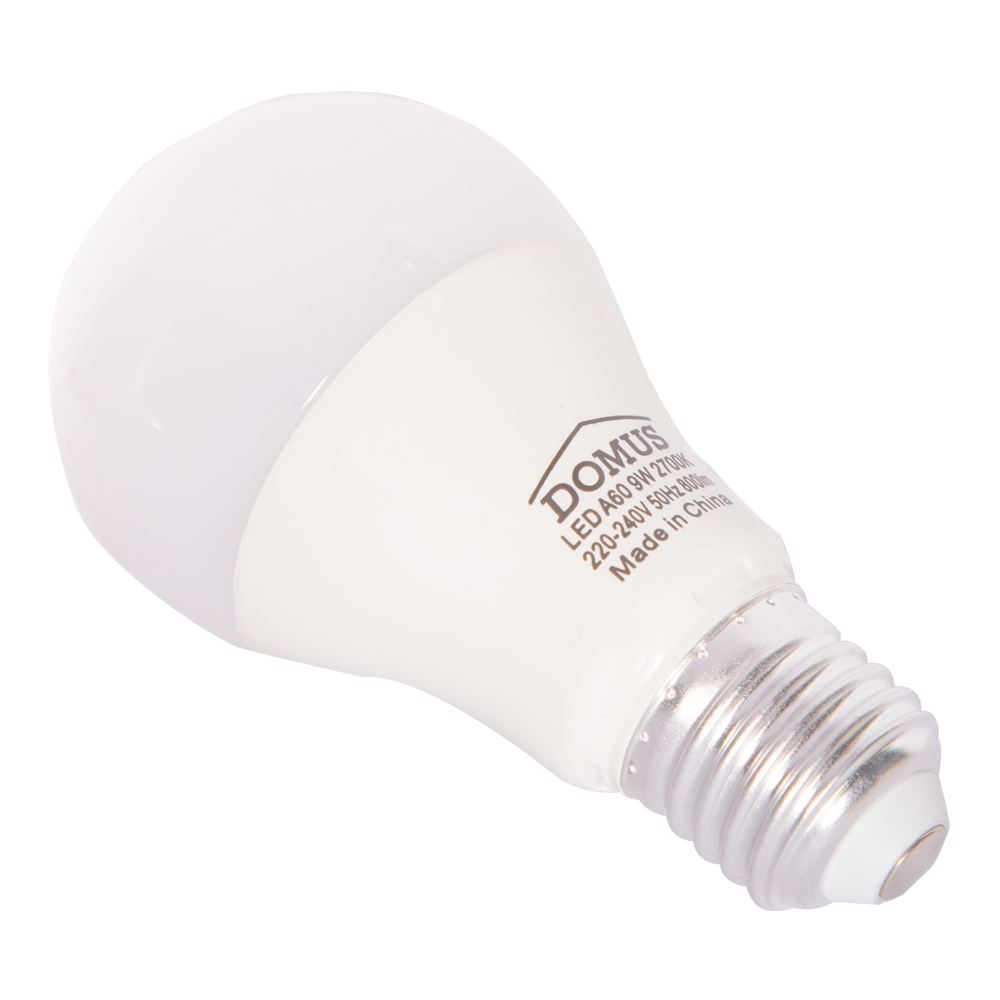 FSL: Round LED Bulb; 9W 800LM, E27, 2700K