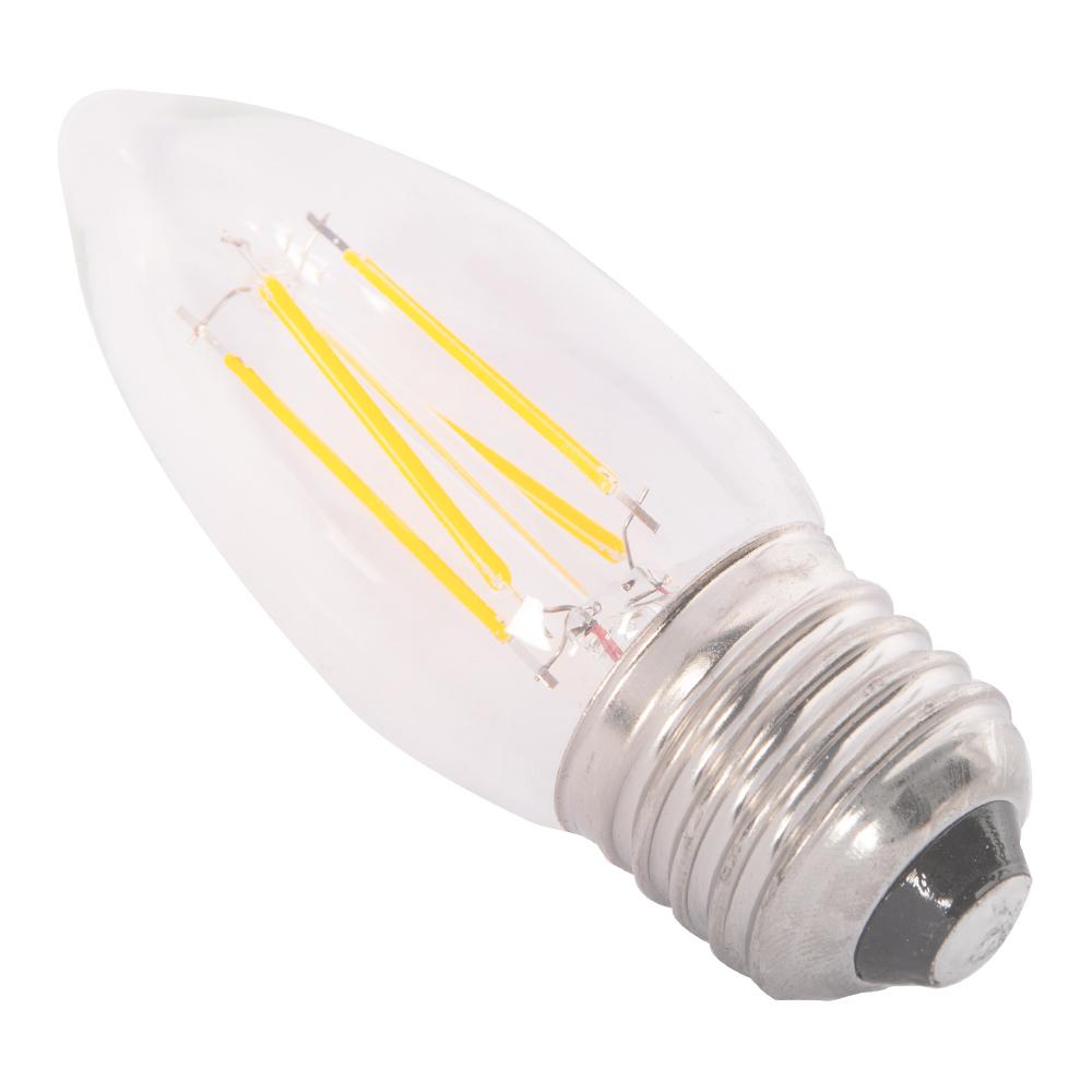 Domus: Candle LED Bulb E27*4W; 175-265(V) #C35-4W
