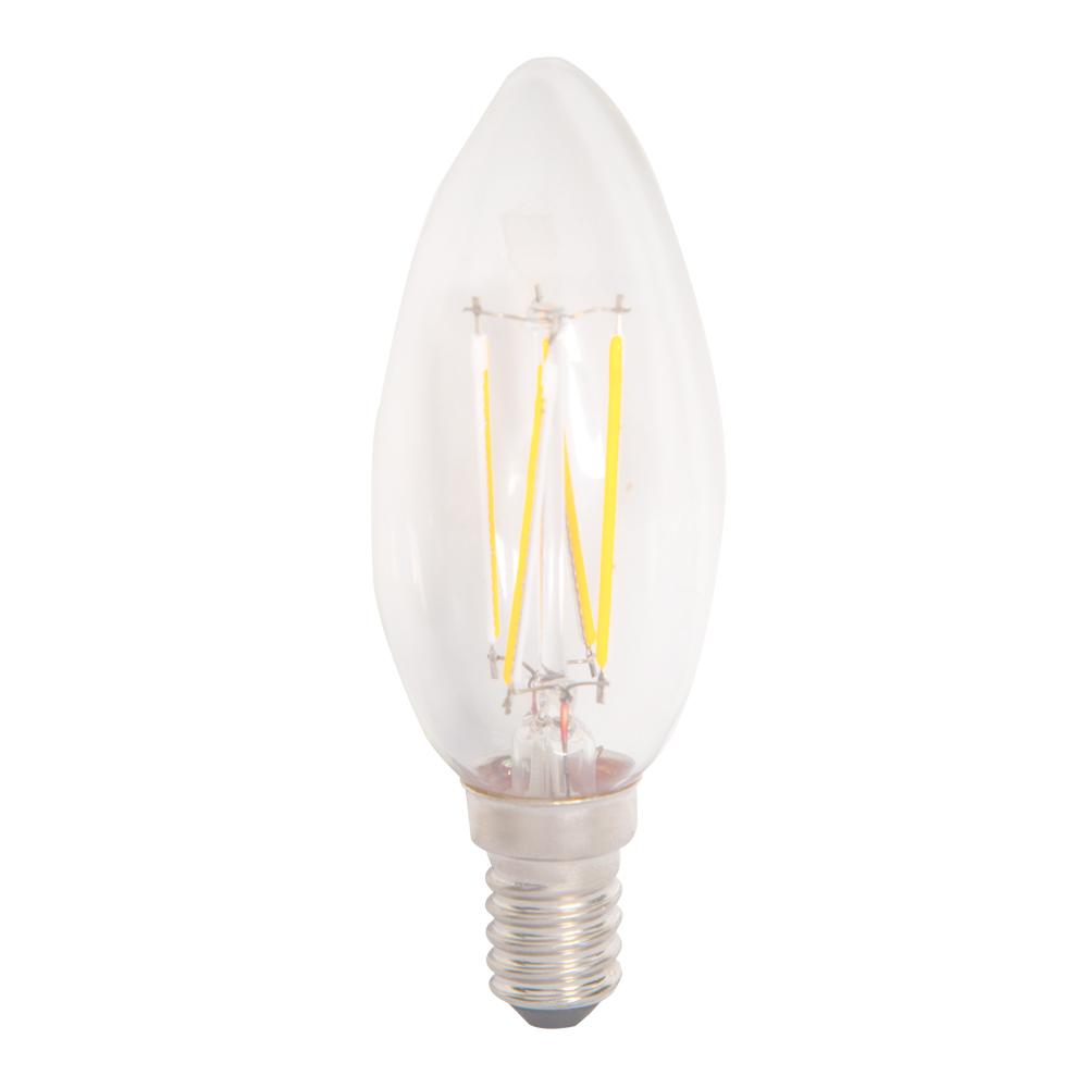 Domus: Candle LED Bulb E14x4W; 175-265(V) #C35-4W 1