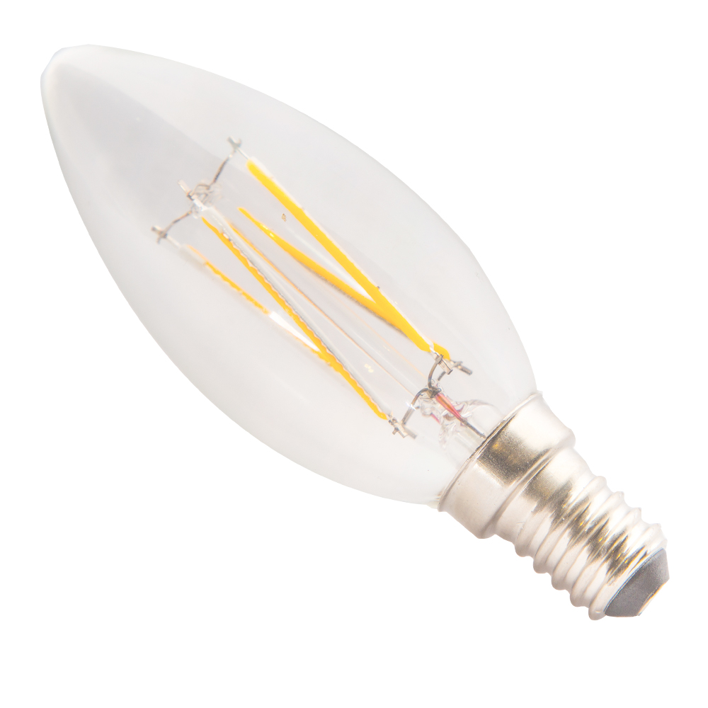 Domus: Candle LED Bulb E14x4W; 175-265(V) #C35-4W
