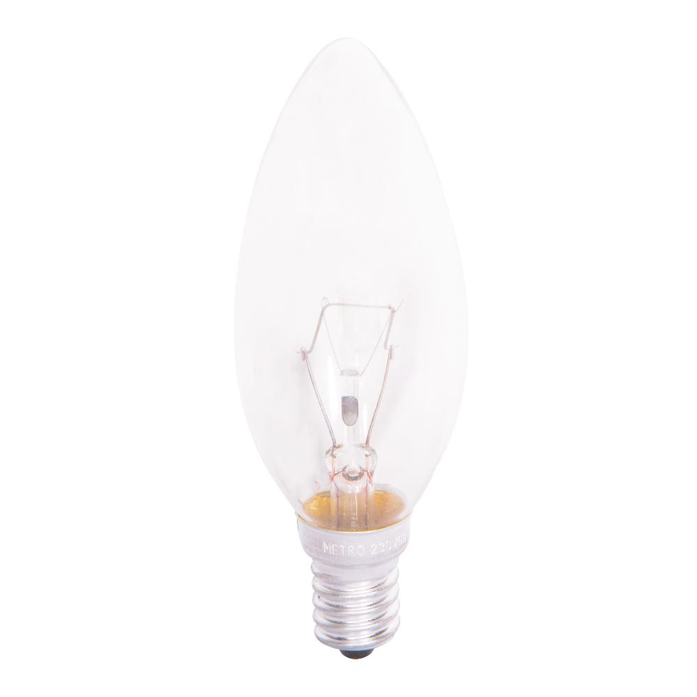 HUAYI : Candle Bulb, Clear 60W  E14 1