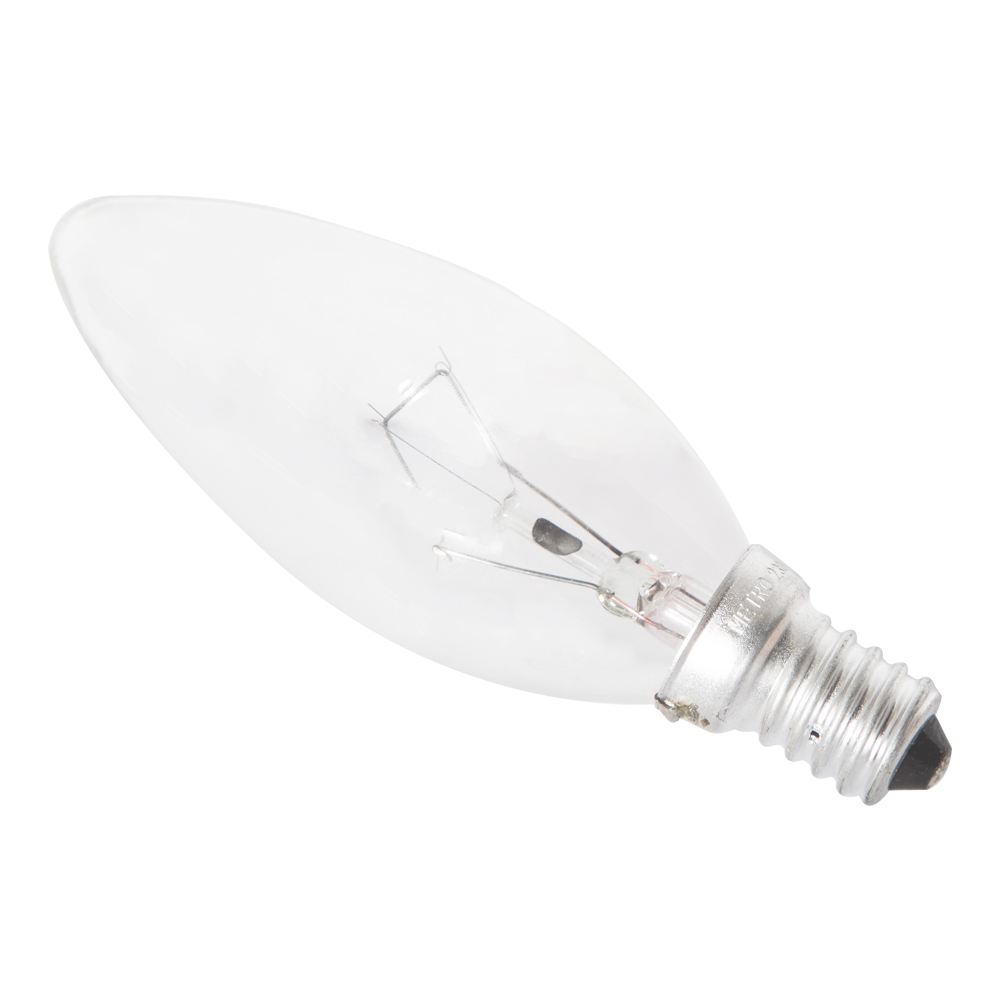 HUAYI : Candle Bulb, Clear 60W  E14